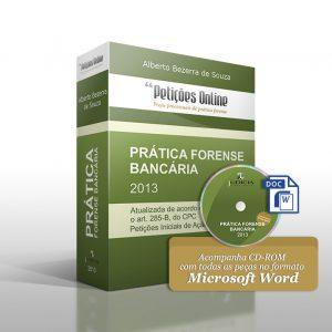 Livro Prática Forense Bancária com CD-ROM